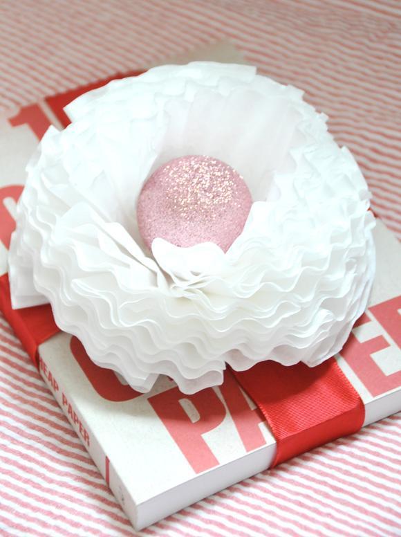 Flores pompones decoracion con moldes de muffins manualidades foro - Moldes papel magdalenas ...
