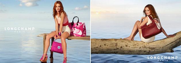 Mi nueva imagen de cabecera / Kate Moss for Longchamp P/V 2011
