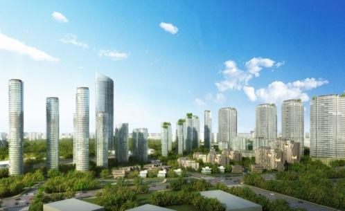plan-urbanistico-jingui_li-Wuxi (china)