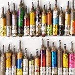 Dalton Ghetti Alphabet Pencil Sculptures