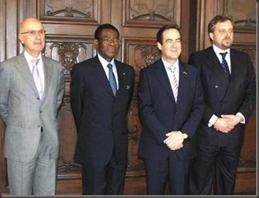 Bono,Arístegui, Duran y Nguema