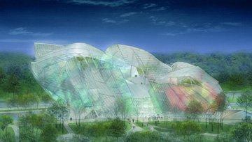 Se paraliza una obra de Frank Gehry en París