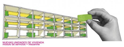 Primer lugar del Concurso Renovación Casa buque Monserrate / García, Ishiyama, Chávez, Shu, Olivares