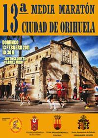 XIII Media Maratón Ciudad de Orihuela 2011