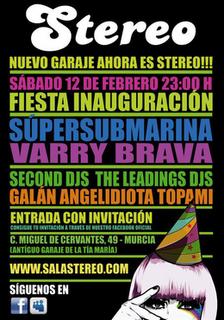Inaguración Sala Stereo En Murcia