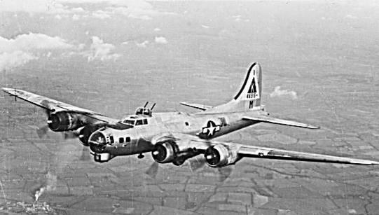 Fortaleza volante B-17 de EEUU