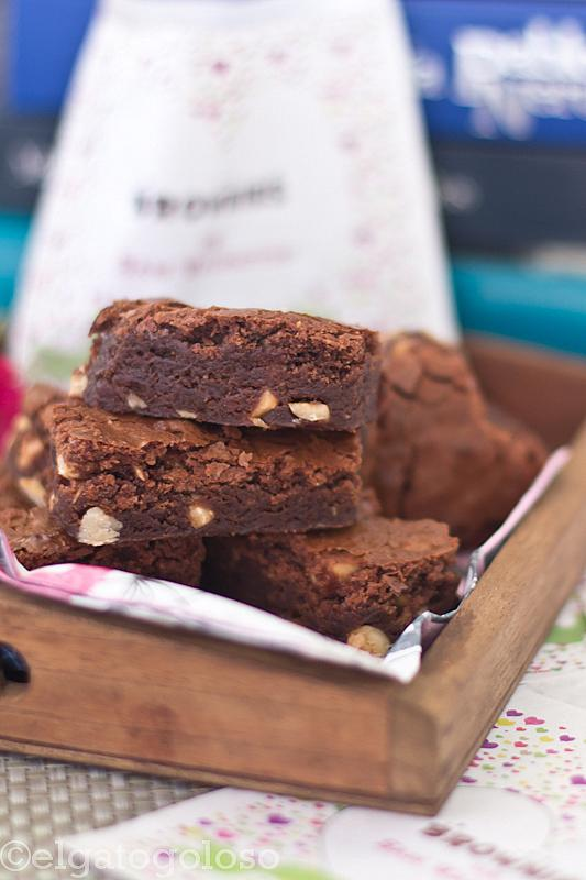 Brownies de San Valentín y regalito
