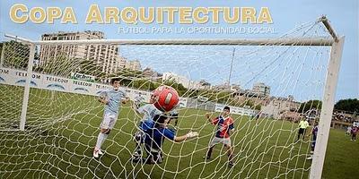 Copa Arquitectura: Fútbol para la Oportunidad Social