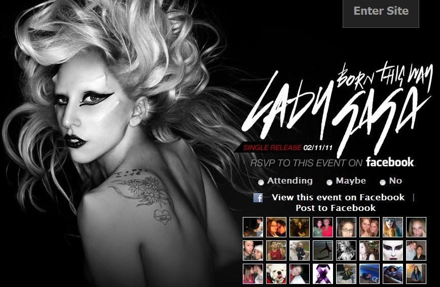 Born This Way arrasa en Itunes