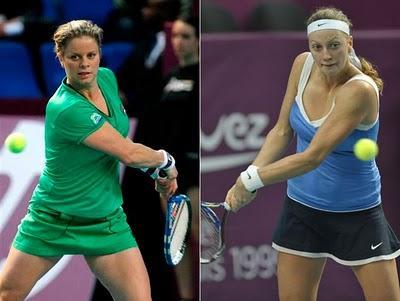 WTA de París: Clijsters y Kvitova irán por el título