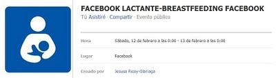 Facebook Lactante: protesta internacional