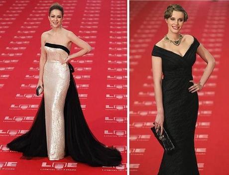 Los vestidos de los Goya 2011. 1