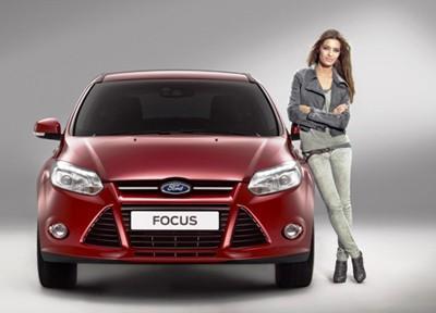 Sara Carbonero, imagen del lanzamiento del nuevo Ford Focus
