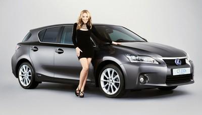 Kylie Minogue, la imagen del nuevo Lexus CT 200h