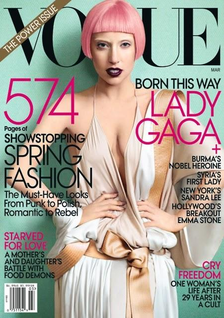 Lady Gaga & Vogue & Mario Testino.