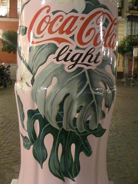 Coca Cola Light en Sevilla.