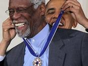 Bill Russell, condecorado Barack Obama