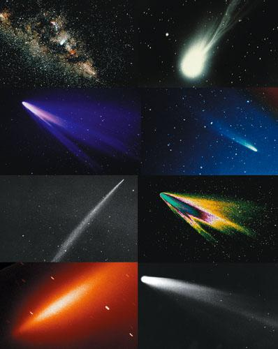 ¿Cuándo volverá a visitarnos el cometa Halley?