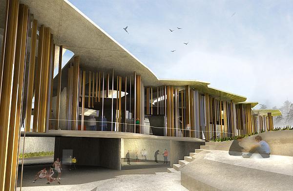 Crab studio concurso nueva escuela arquitectura soheil for Facultad de arquitectura uni