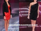 Raquel Rosario espléndida Festival Sanremo. Analizamos looks