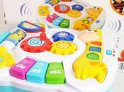 Nuestra experiencia juguete tablero musical didáctico baby
