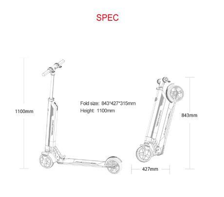 Nuevo Patinete Eléctrico Fastwheel
