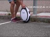 circulando monociclo electrico Fastwheel Nergiza