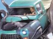 Monster trucks. Conduciendo motor.