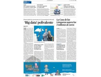 La casa de las l mparas y abelux presentes en la vanguardia paperblog - La casa de las lamparas barcelona ...