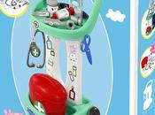 juego roles niños: jugamos doctores carrito médico Peppa