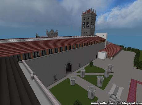 Réplica Minecraft: Hospital del Rey (Facultad de Derecho de