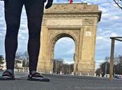 Ruta para correr recorrer ciudad Bucarest (Rumania)