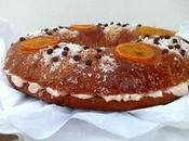 Roscón chocolate naranja