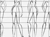 Equilibrio dibujar figurín