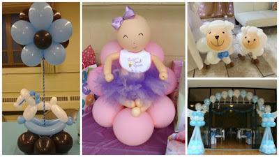 Ideas Decorativas Para Baby Shower.12 Ideas Decorativas Con Globos Para Cumpleanos Baby