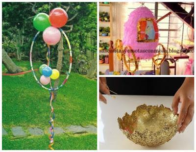 12 ideas decorativas con globos para cumplea os baby - Ideas decorativas para cumpleanos ...