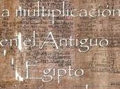 multiplicación Antiguo Egipto