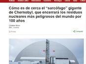 Impresionante nuevo sarcófago para chernobyl