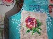 Porta Lanas Tejido Crochet