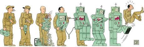 Los robots deberían de cotizar a la Seguridad Social.