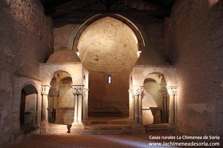 soria monasterio san juan de duero iglesia