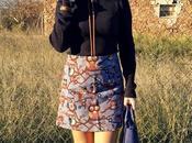 Falda búhos