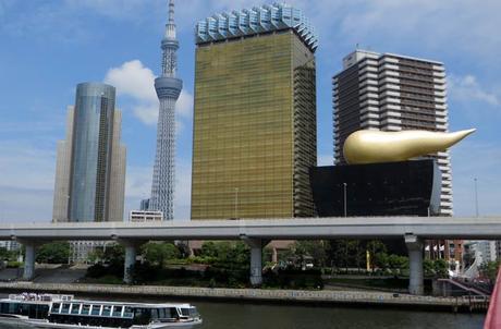 Edificio Flamme d'Or en Tokio curiosidades de Japón