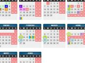 """Calendario programa """"leer juntos"""""""