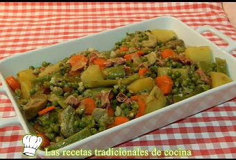 C mo hacer menestra de verduras paperblog - Como preparar menestra de verduras ...