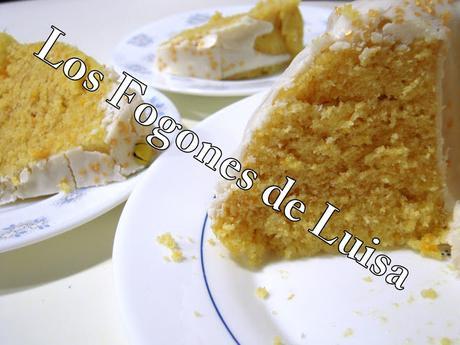Bizcocho de naranja con glasa al microondas paperblog - Bizcocho con microondas ...