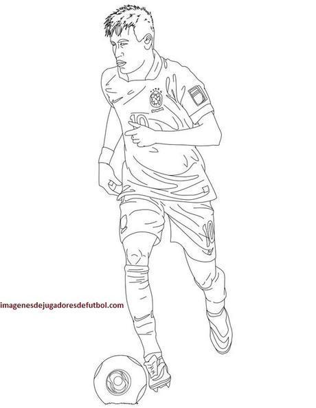 Descarga A Famosos En Imagenes De Jugadores De Futbol Para Pintar
