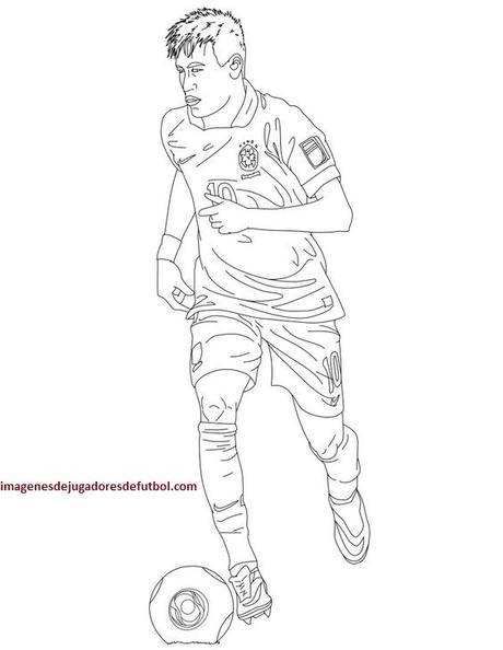 Descarga a famosos en imagenes de jugadores de futbol para pintar ...