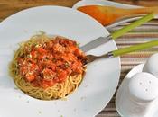 Espaguetis integral verduras