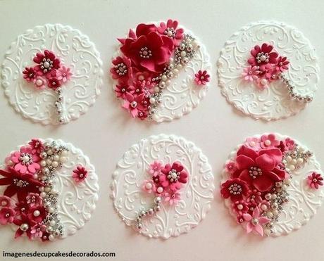 figuras de azucar para decorar cupcakes esculturas